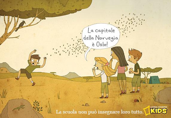 La scuola non può insegnare loro tutto (National Geographic Kids)