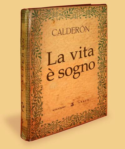 Libro 'La vita è sogno', di Pedro Calderón de la Barca